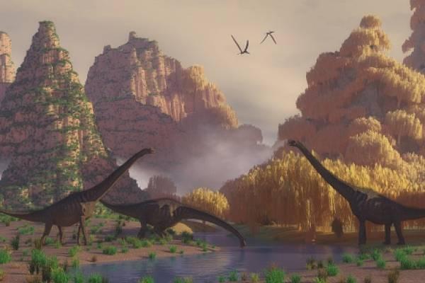 El pie más grande de dinosaurio
