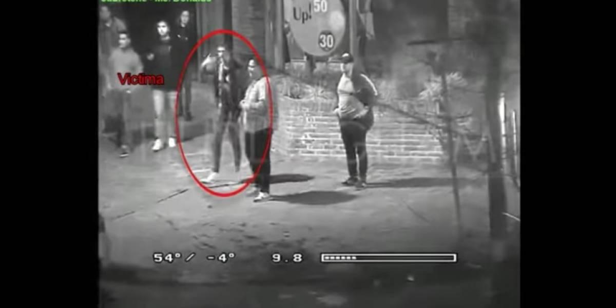 VIDEO. Captan momento en que asesinan a exportero de River Plate