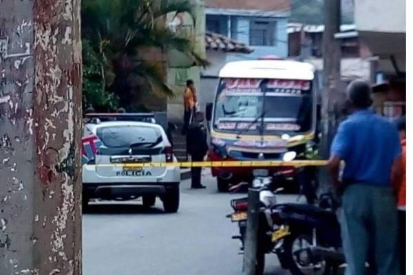 Homicidio en bus de servicio público
