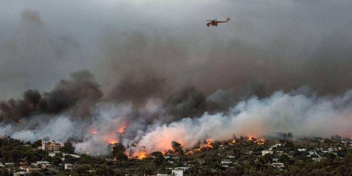 Incêndio na Grécia: O irlandês em lua de mel que perdeu a vida em balneário