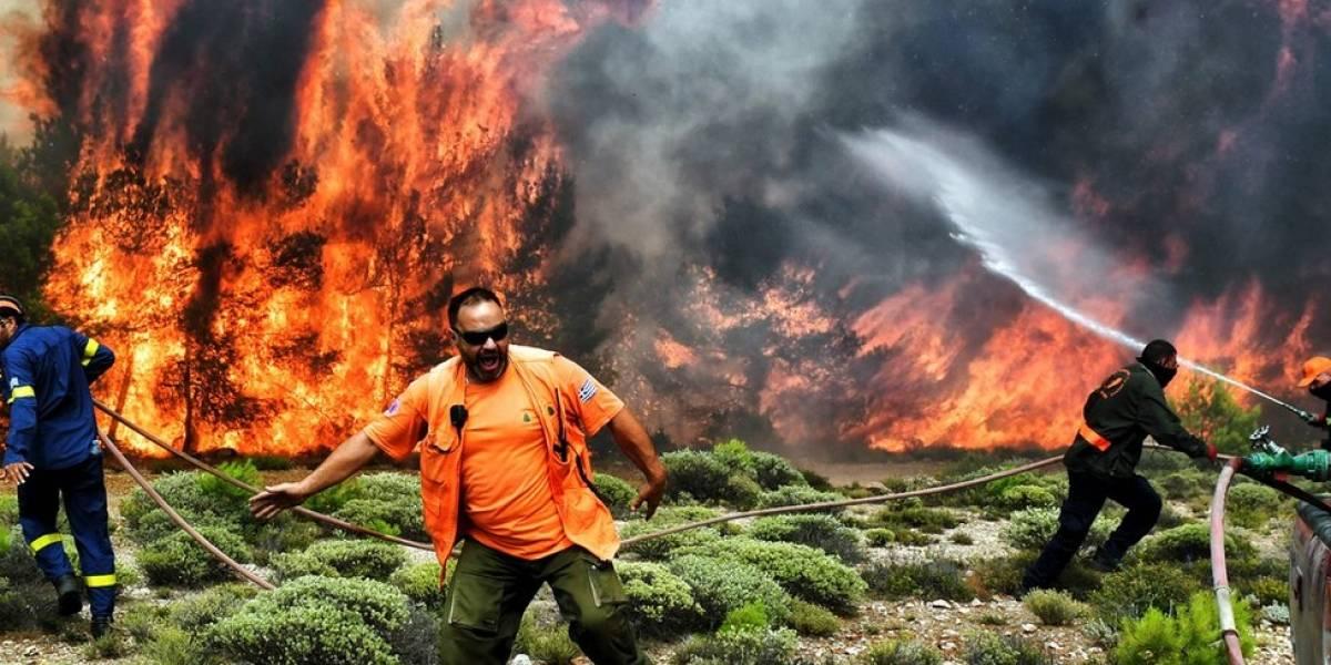 Incêndio na Grécia: Por que fogo se espalha tão rápido e é tão mortífero?
