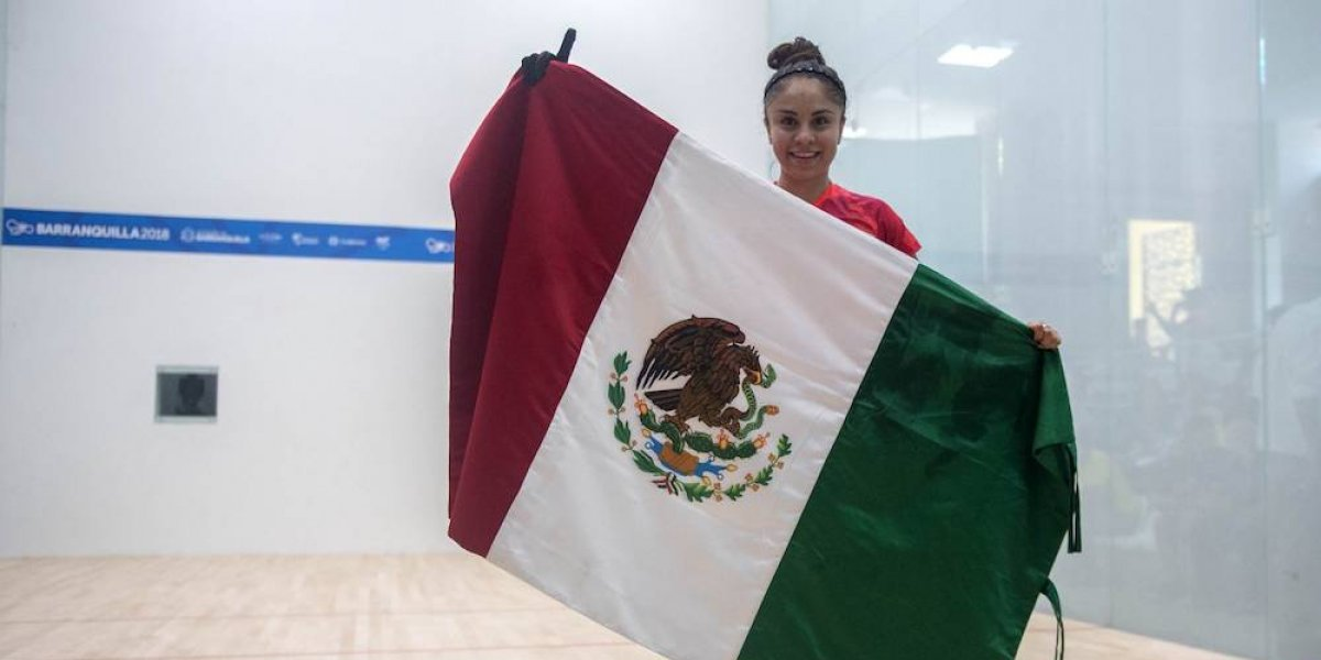 Paola Longoria conquista el oro en Barranquilla 2018