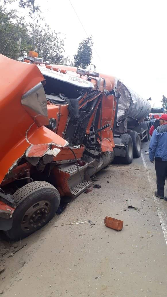 Accidente Chimborazo