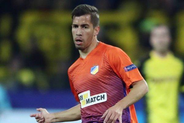 Agustín Farías volverá a Palestino tras jugar en el APOEL / Foto: Getty Images