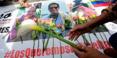 Fiscalía colombiana revela más detalles del secuestro del equipo periodístico de El Comercio