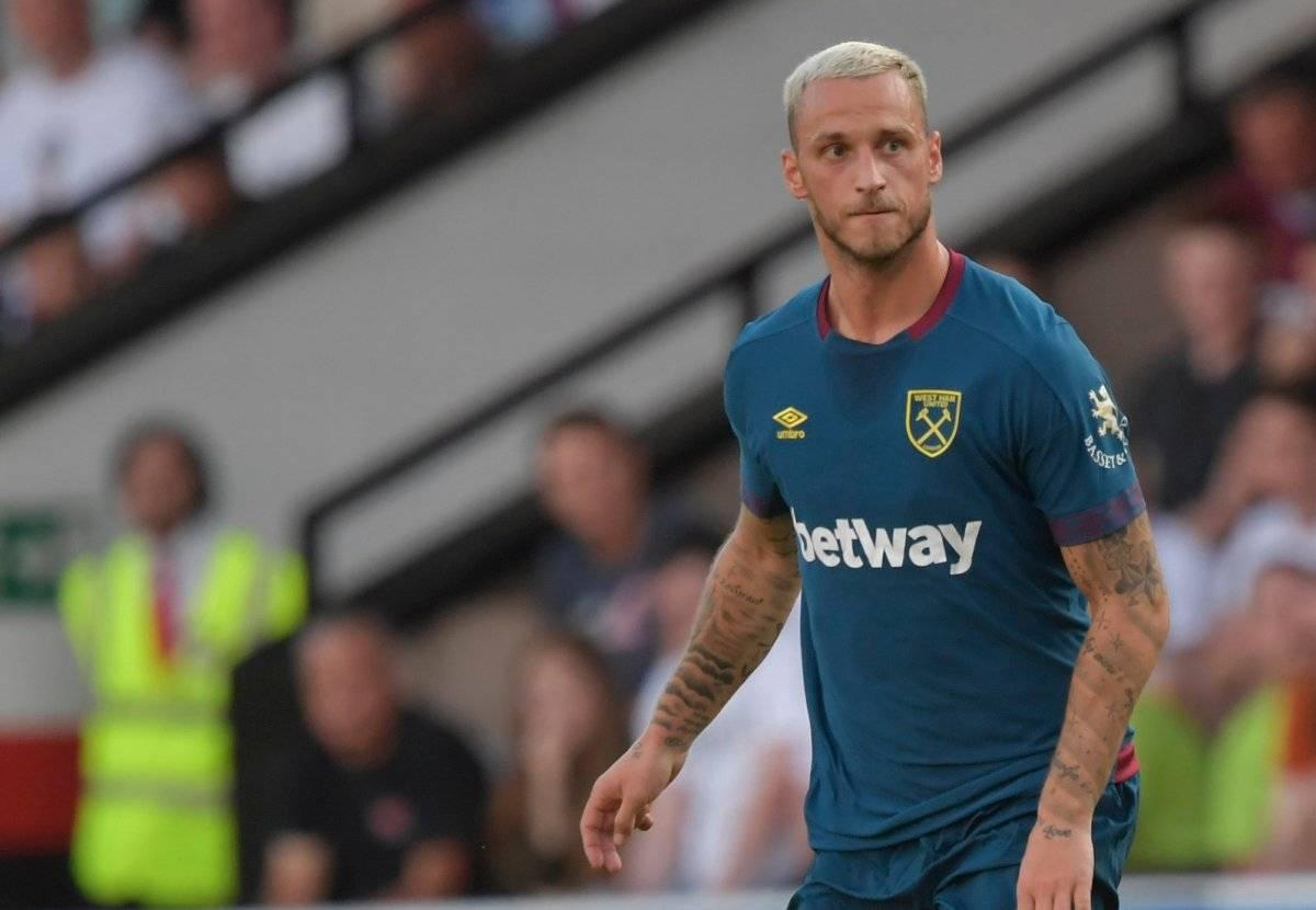 El austriaco Marko Arnaoutovic ha sido uno de los destacados en la pretemporada del West Ham de Pellegrini / Foto: Twitter