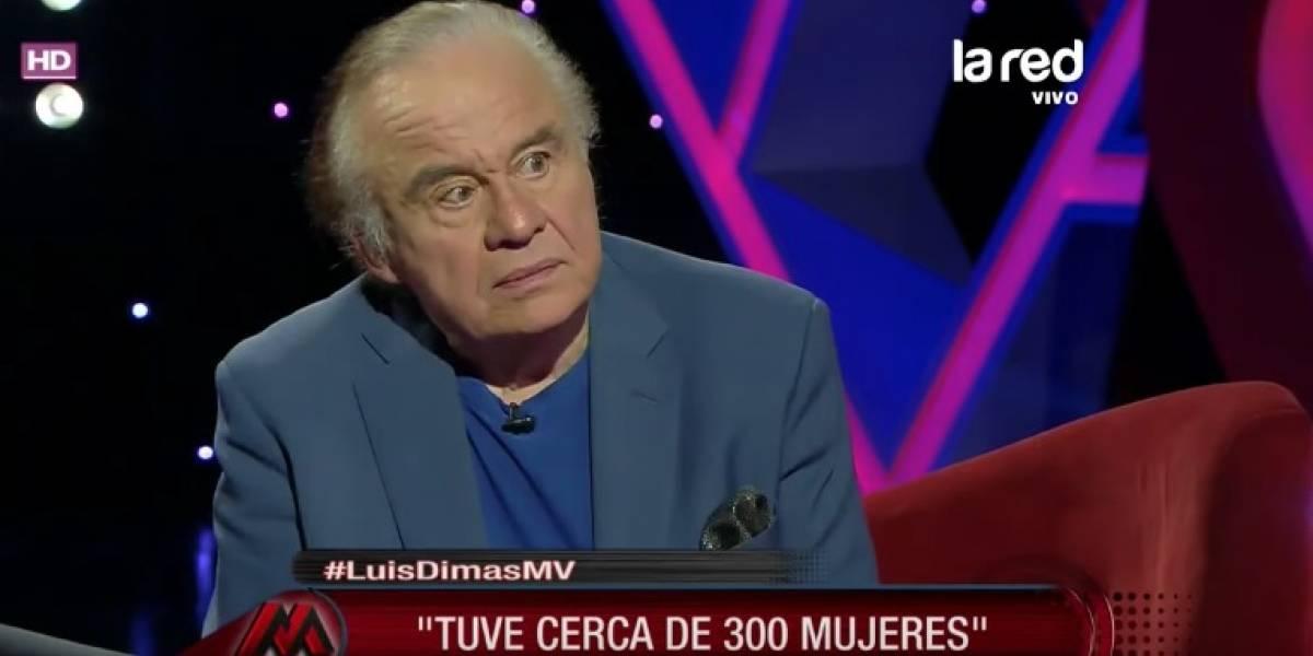 """Luis Dimas: """"Tuve cerca de 300 mujeres"""""""