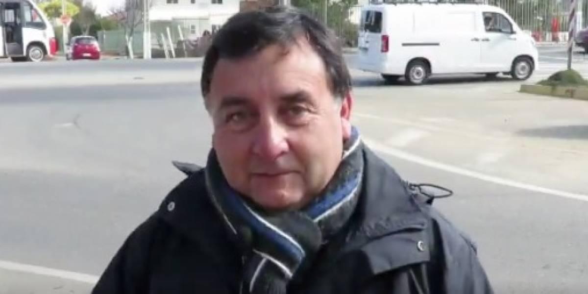Cosas que pasan en Chile: jefe de tránsito habla sobre cómo evitar los accidentes y ocurre el más épico fail en plena entrevista