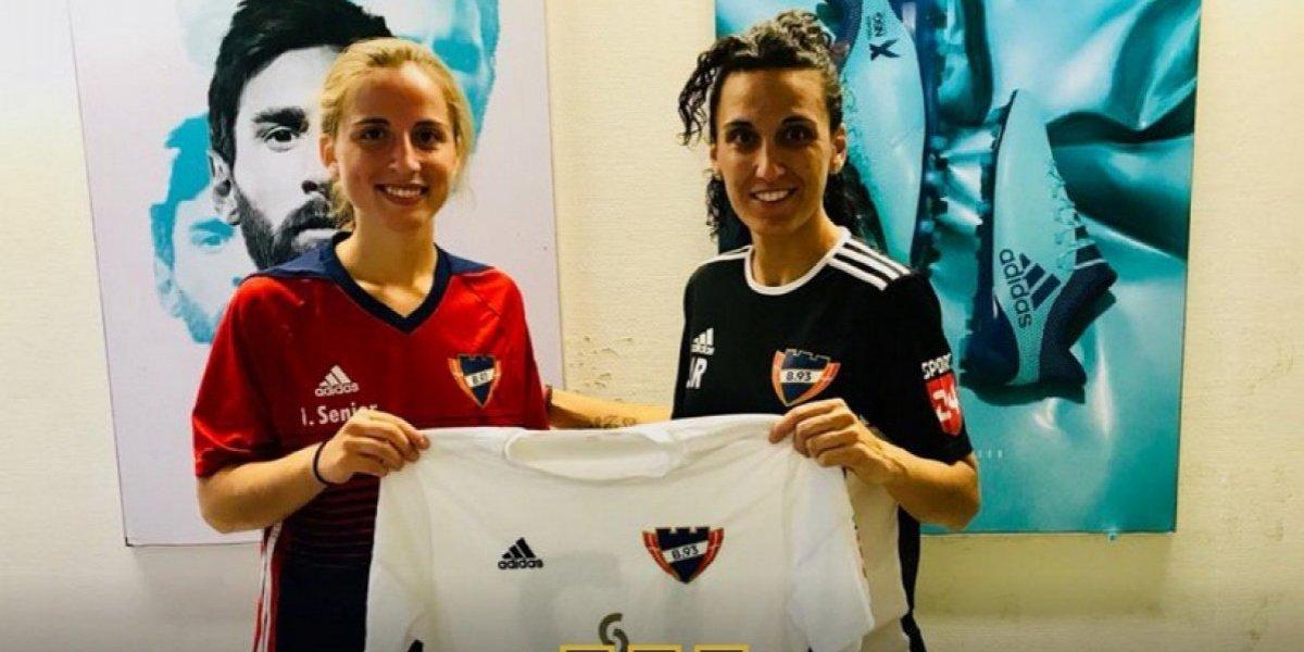 Otra chilena a Europa: Leticia Torres vuelve al fútbol después de dos años lesionada y llega a Dinamarca