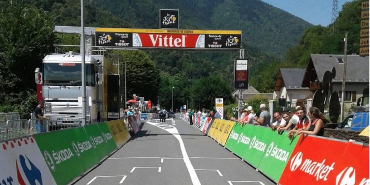 En vivo la etapa 17 del Tour de Francia: una corta y explosiva sierra