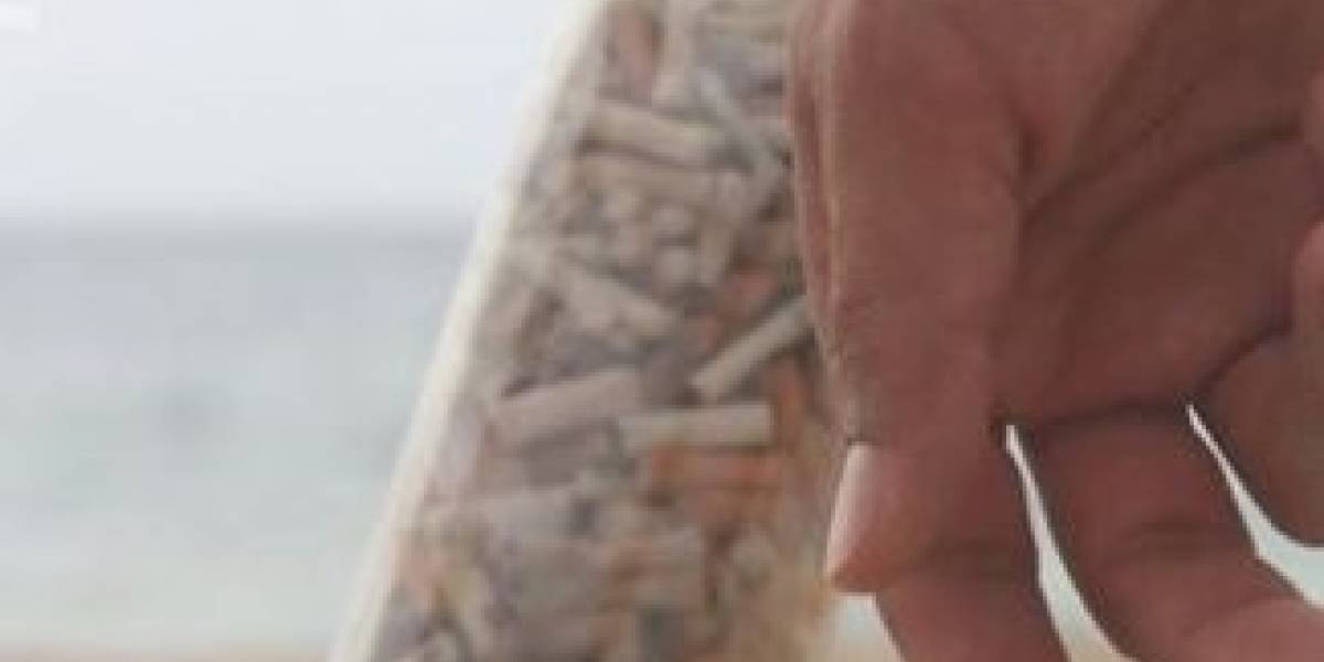Sacan colillas de cigarrillos de playa de Ocean Park
