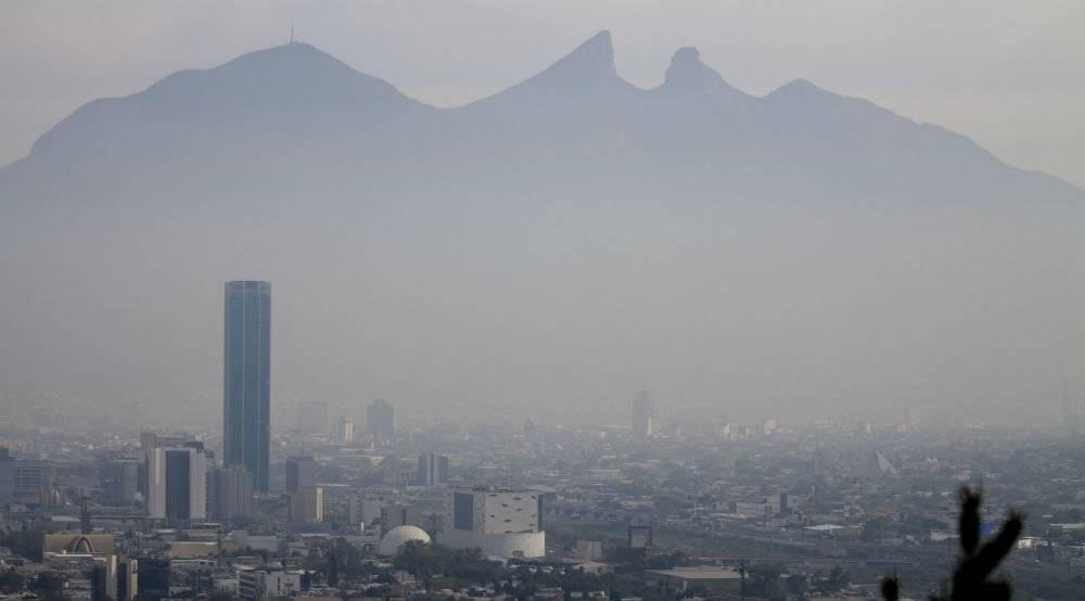 Contaminación en Monterrey