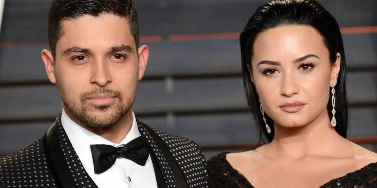 """Exnovio de Demi Lovato está """"completamente devastado"""" por su ingreso al hospital por consumo de drogas"""