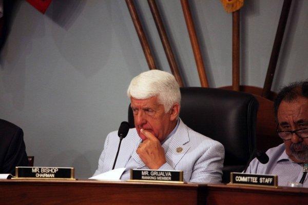Rob Bishop, republicano de Utah, presidió la vista. Suministrada
