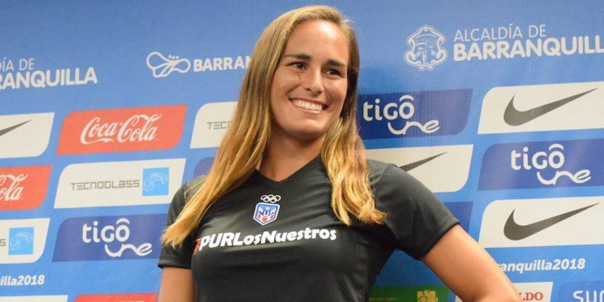 """Mónica Puig: """"Juego mi mejor tenis cuando represento a PR"""""""