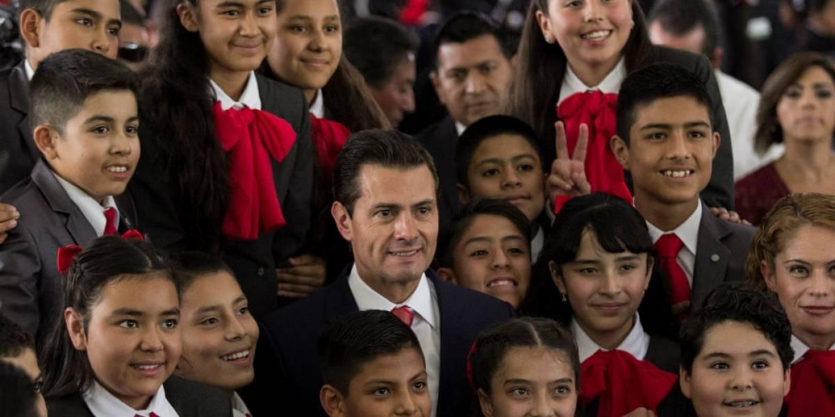 Reforma educativa debe ser orgullo de todos los mexicanos: Peña Nieto