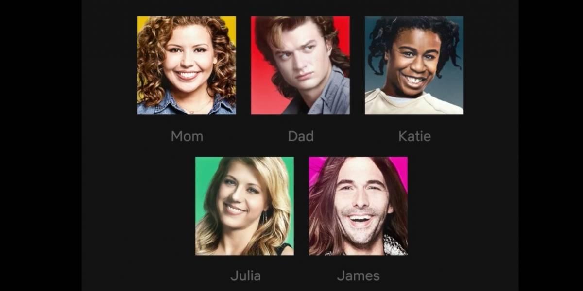 Será possível colocar personagens favoritos nos ícones de perfil da Netflix