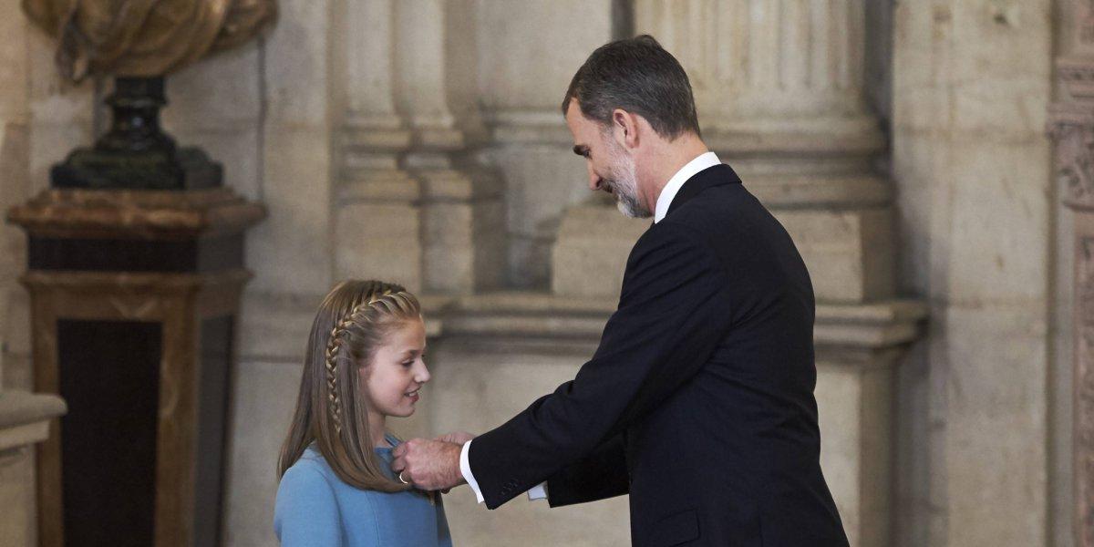 """Critican primera moneda de la princesa Leonor en España por ser """"irreconocible"""""""