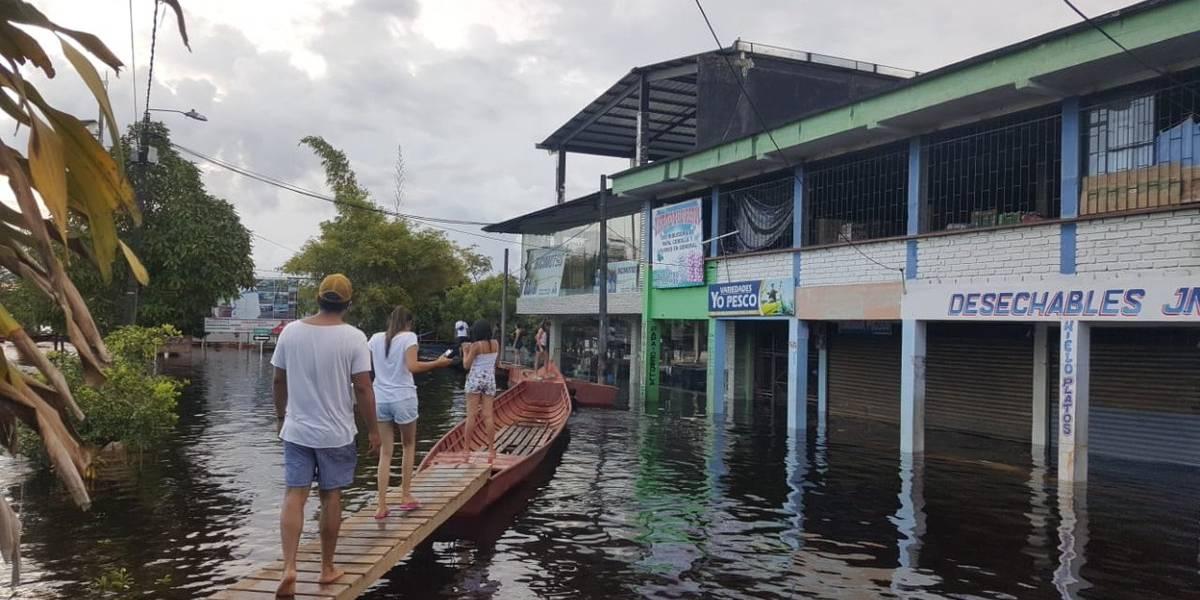 """""""El 50% del territorio está bajo el agua"""": gobernador de Guainía"""