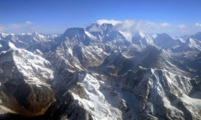 El cuerpo fue encontrado en un glaciar del Himalaya