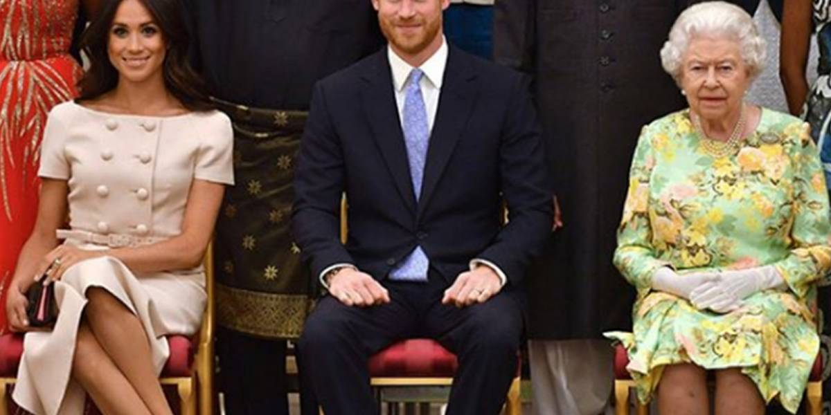 El nuevo y costoso regalo con el que la reina Isabel II sorprendió a Harry y Meghan
