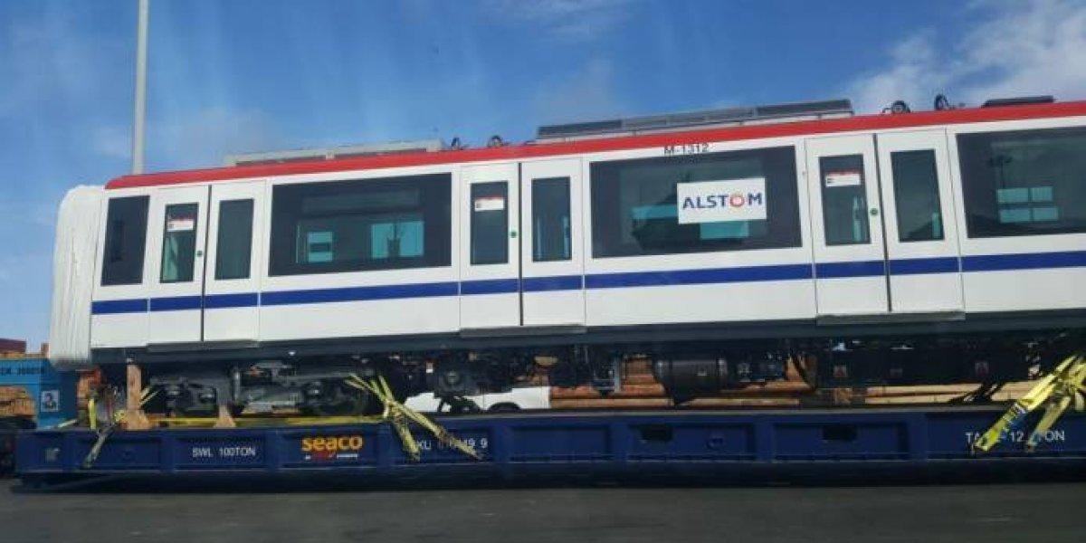 Llegan vagones para la línea 2B del Metro de Santo Domingo