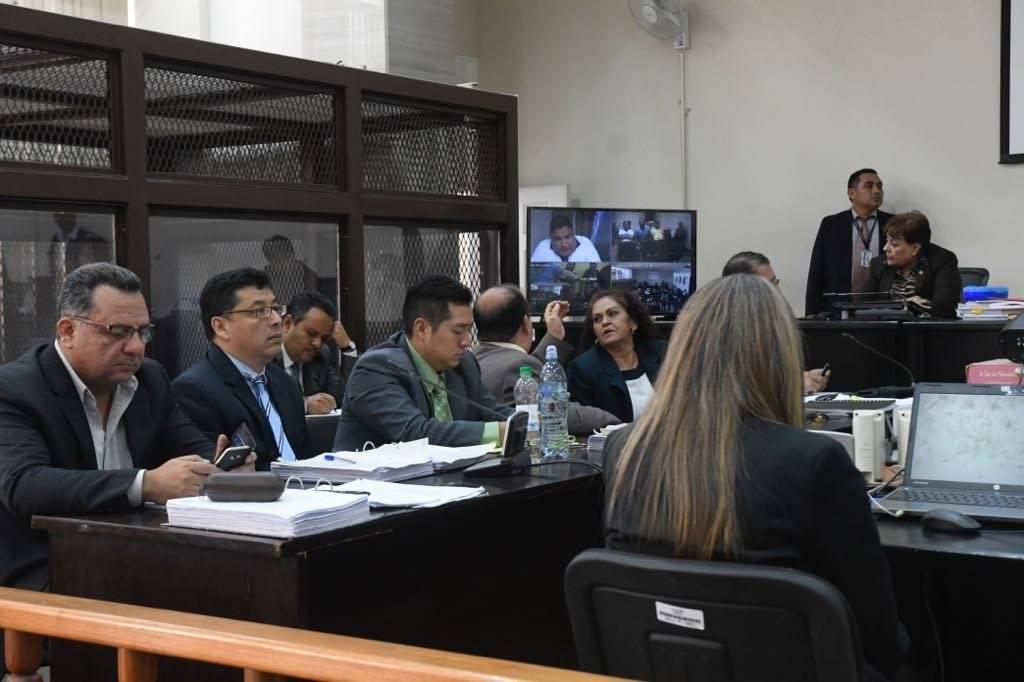 """Juicio por el caso """"Salcajá"""". Fotos: Omar Solís"""