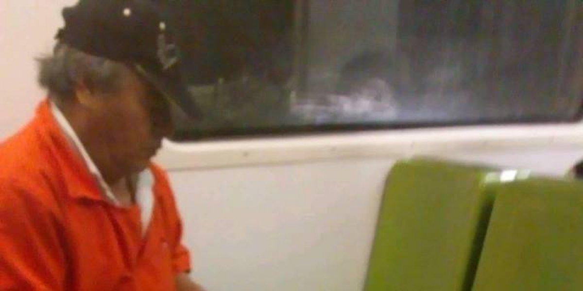 Trabajador del Metro llora por miedo a sus superiores
