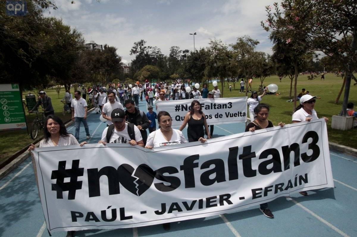 Fiscalía de Colombia revela la ruta del secuestro de los periodistas API