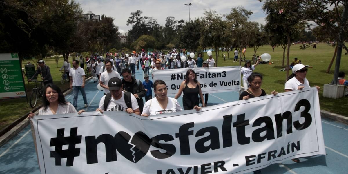 Fiscalía de Colombia revela la ruta del secuestro de los periodistas