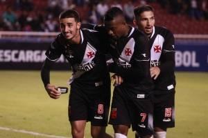 Liga de Quito vs Vasco de Gama: Con dobleta de Anangonó, los 'albos' respiran en la Copa Sudamericana