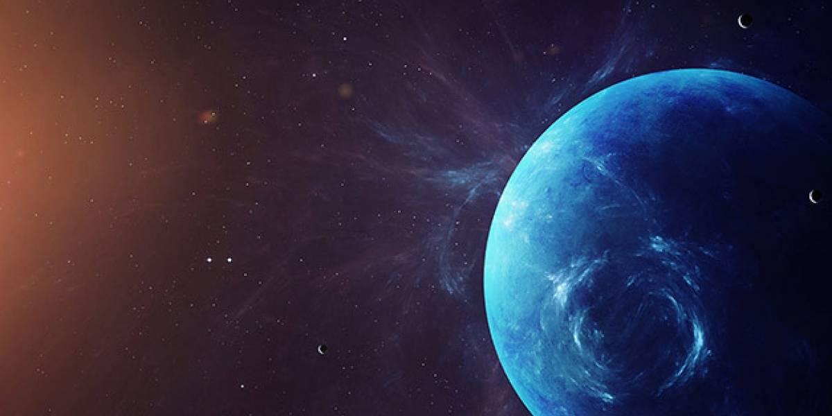 Se captó desde Chile una de las mejores fotos de Neptuno
