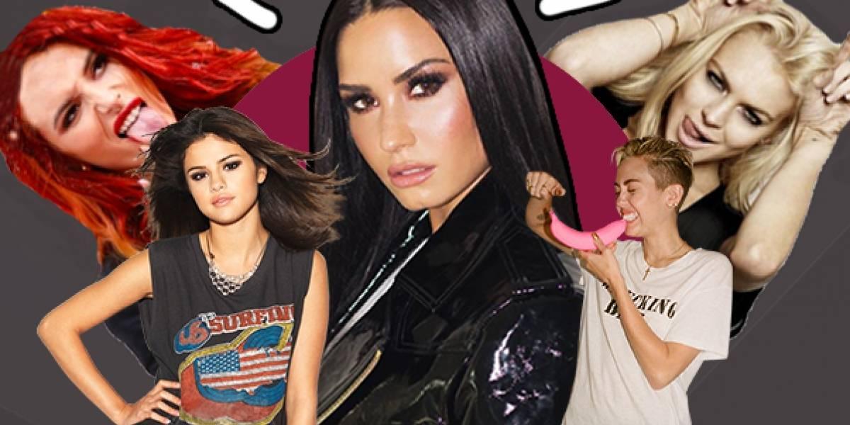 """Demi Lovato y la oscura maldición de las """"chicas Disney"""""""
