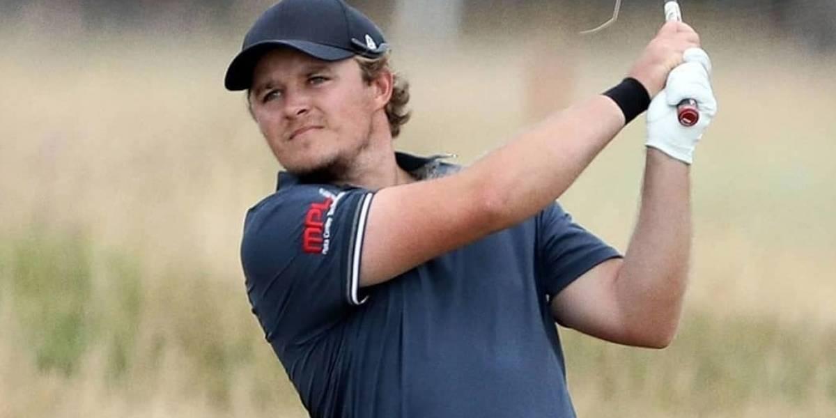 Golfista juega crudo última ronda del Abierto Británico