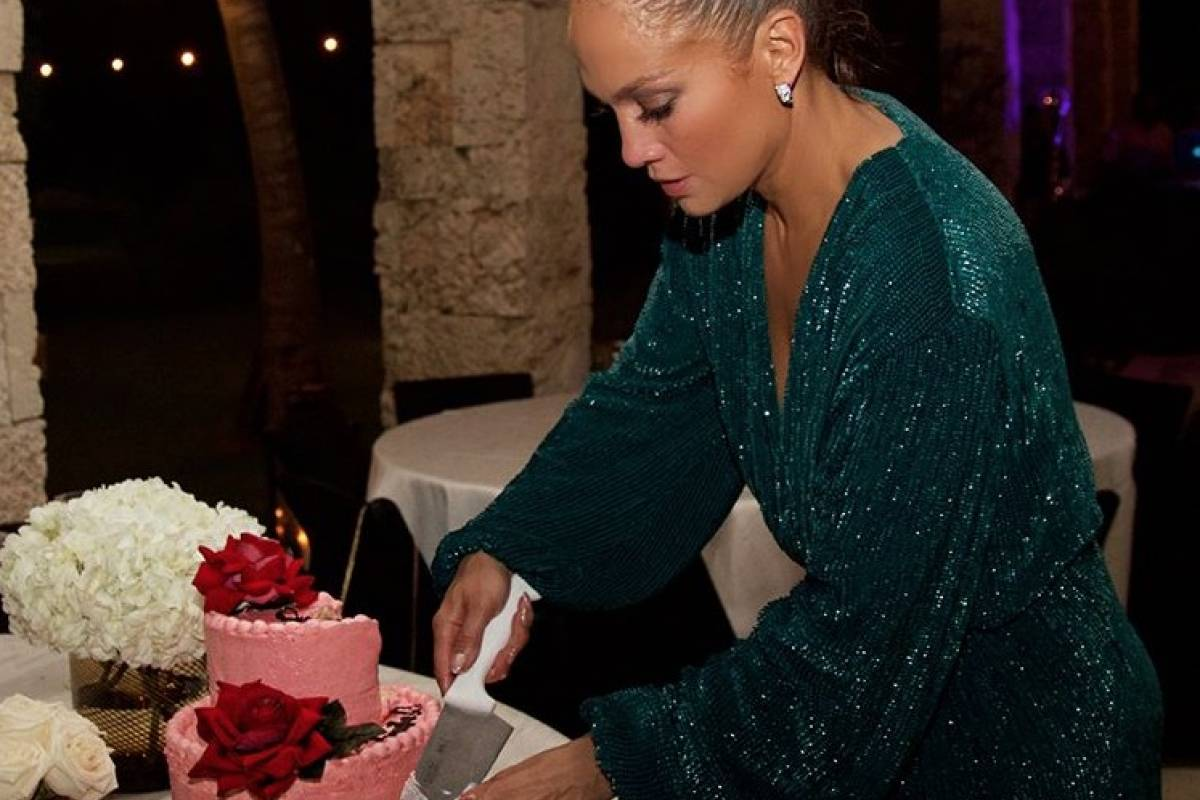 Jennifer López en su cumpleaños número 49. Instagram