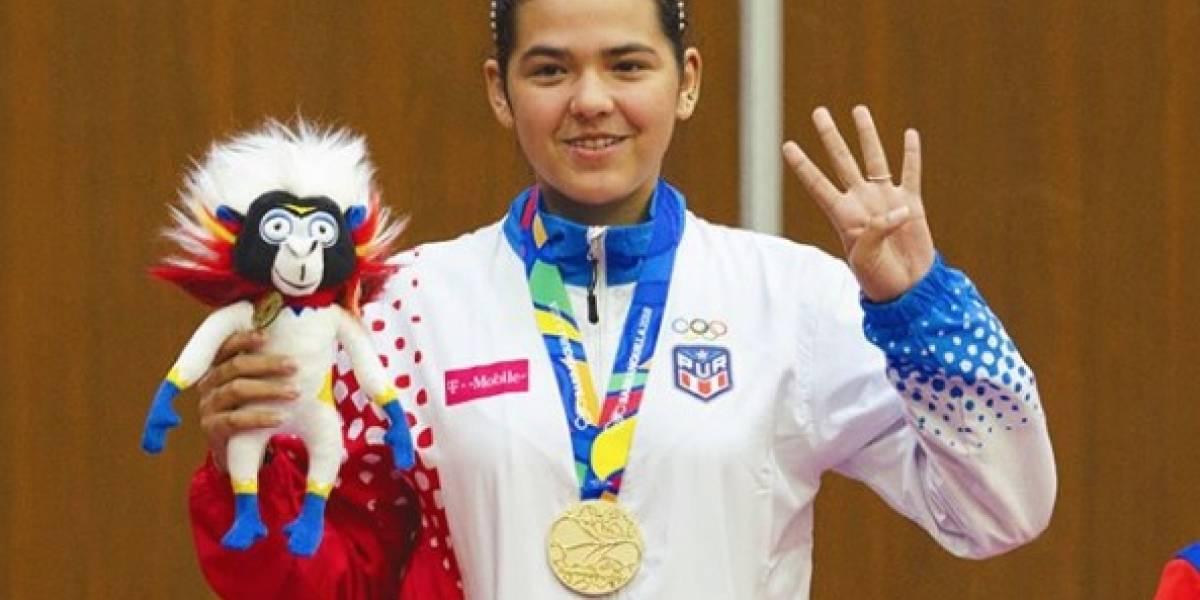 Con esta canción Adriana Díaz celebra sus cuatro medallas en Barranquilla 2018