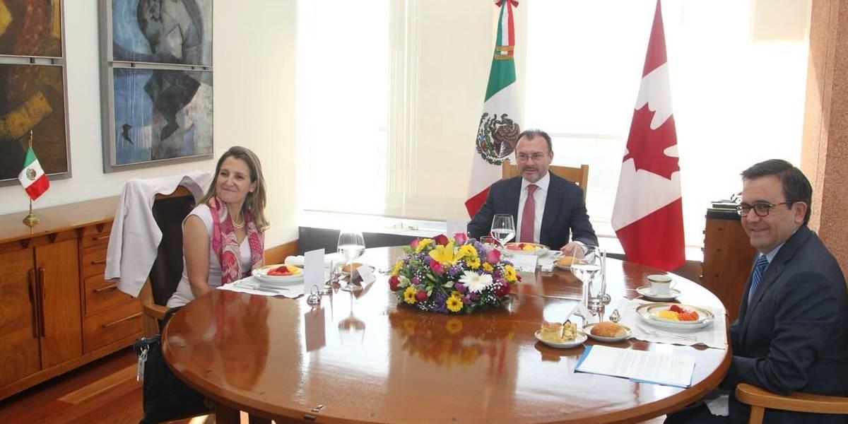 México y Canadá coinciden que TLCAN ha sido, es y será trilateral