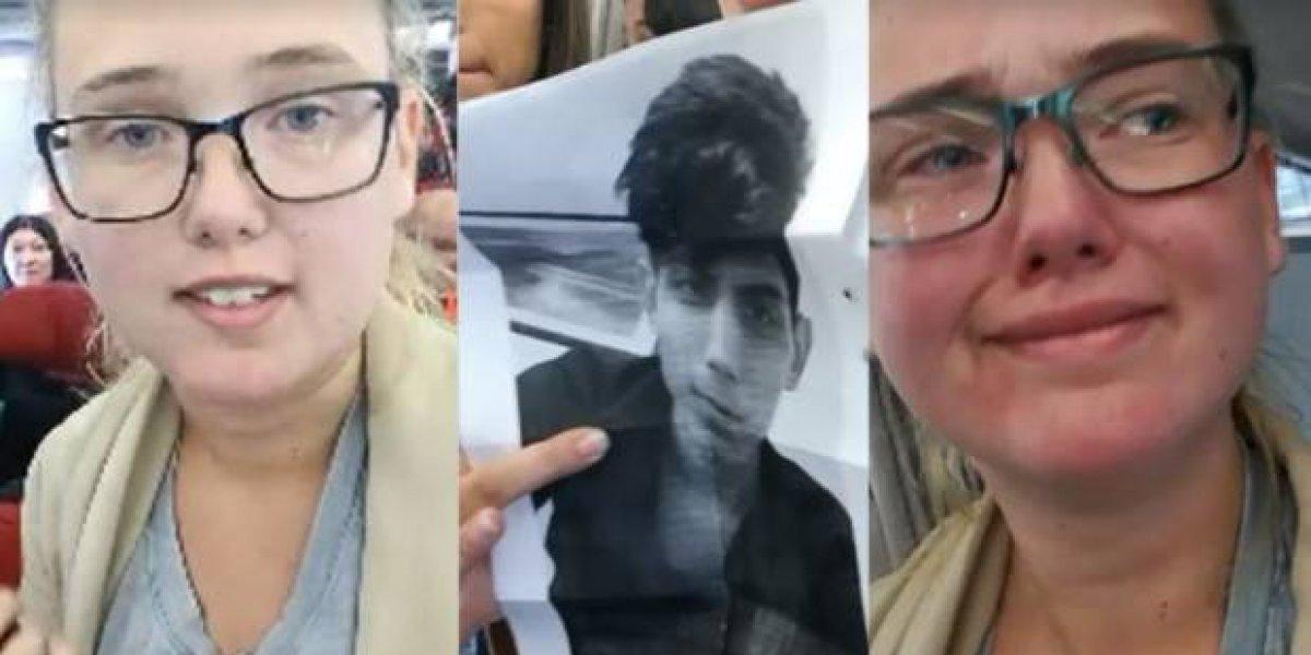 Estudiante sueca intenta frenar la deportación de un afgano en un vuelo