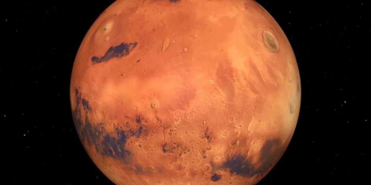 Marte podría tener oxígeno suficiente para albergar vida