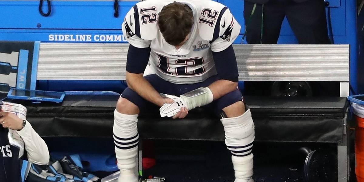 Las impactantes fotos de Tom Brady en 'un mal' estado físico