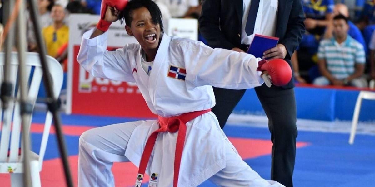 El karate pega fuerte en los JCC de Barranquilla