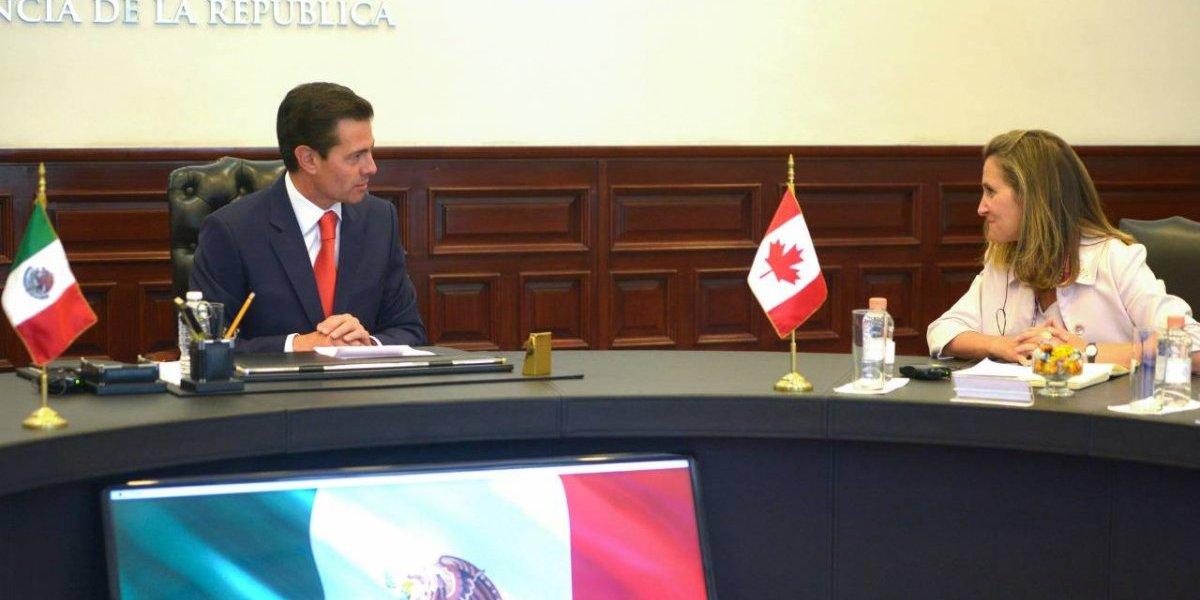 Confía Peña Nieto en concluir las negociaciones del TLCAN a corto plazo