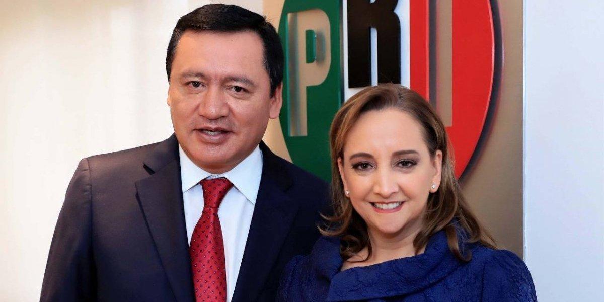 Eligen a Osorio Chong como presidente del PRI en el Senado