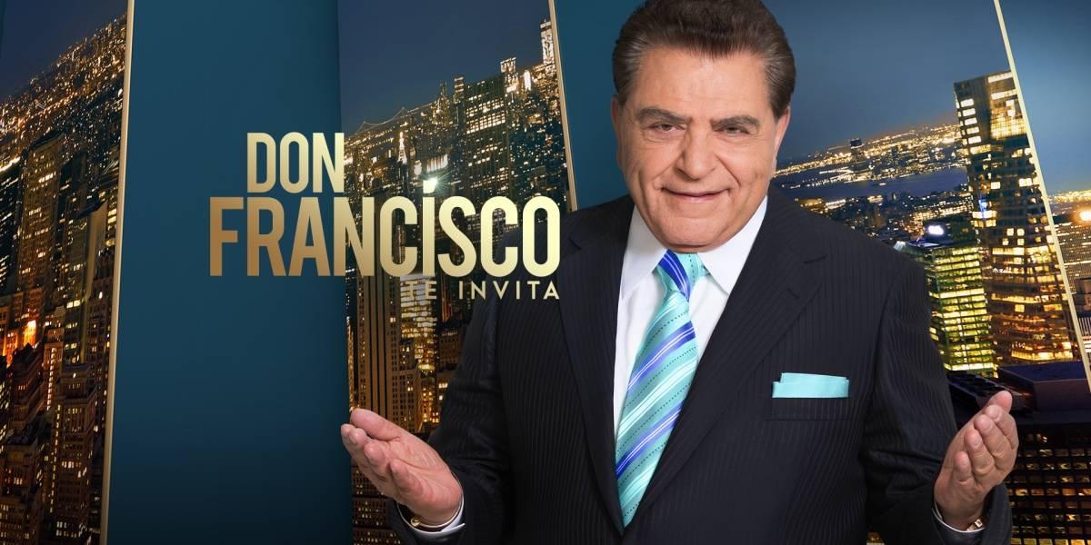 ¡No va más! Cancelan programa de Don Francisco en Telemundo