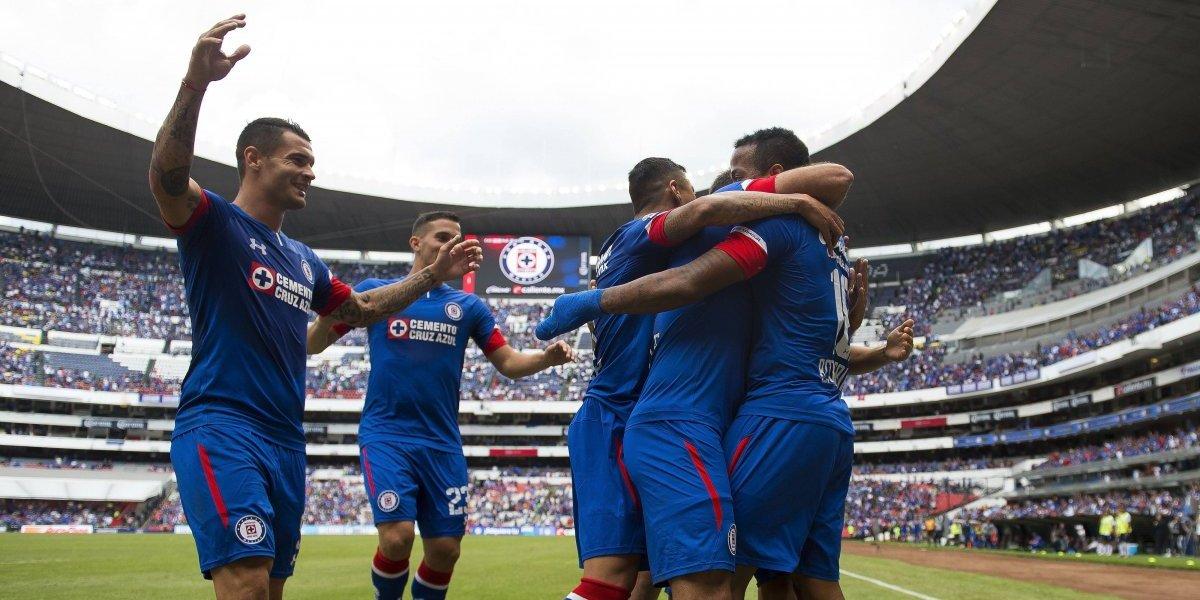 Cruz Azul presume fotografía oficial en el Estadio Azteca