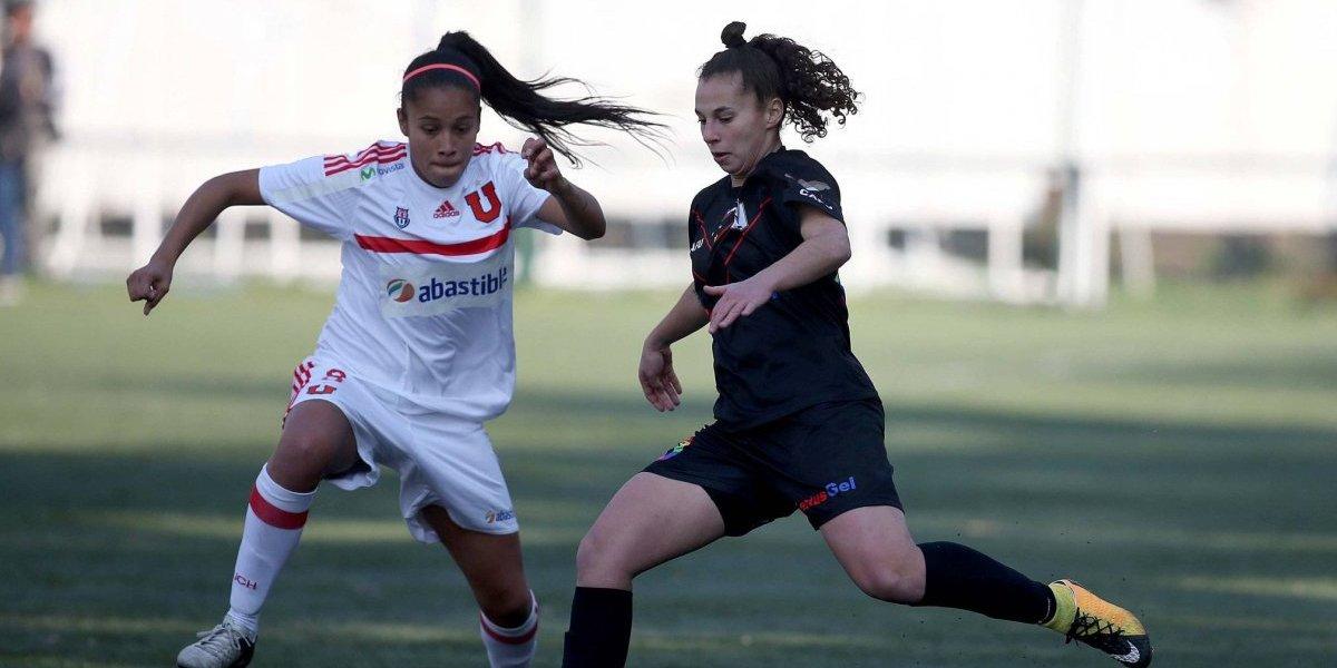 La primera rueda del Campeonato Nacional de fútbol femenino llegará a su fin este fin de semana