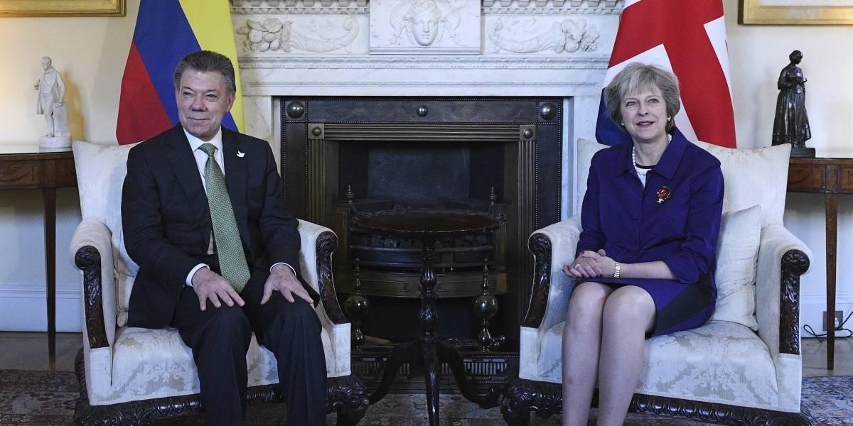 La nota que, según Uribe, confirma la colaboración del MI6 con Santos en Colombia