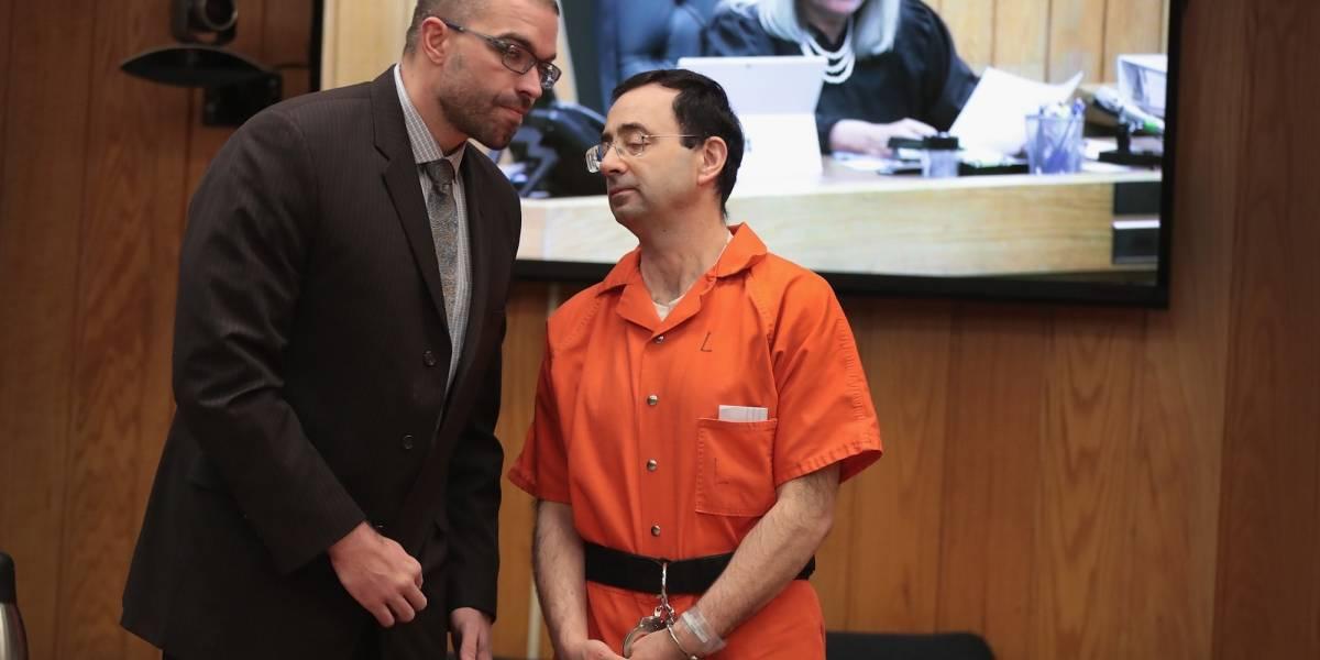 Agredieron en la cárcel al médico que abusaba sexualmente de gimnastas