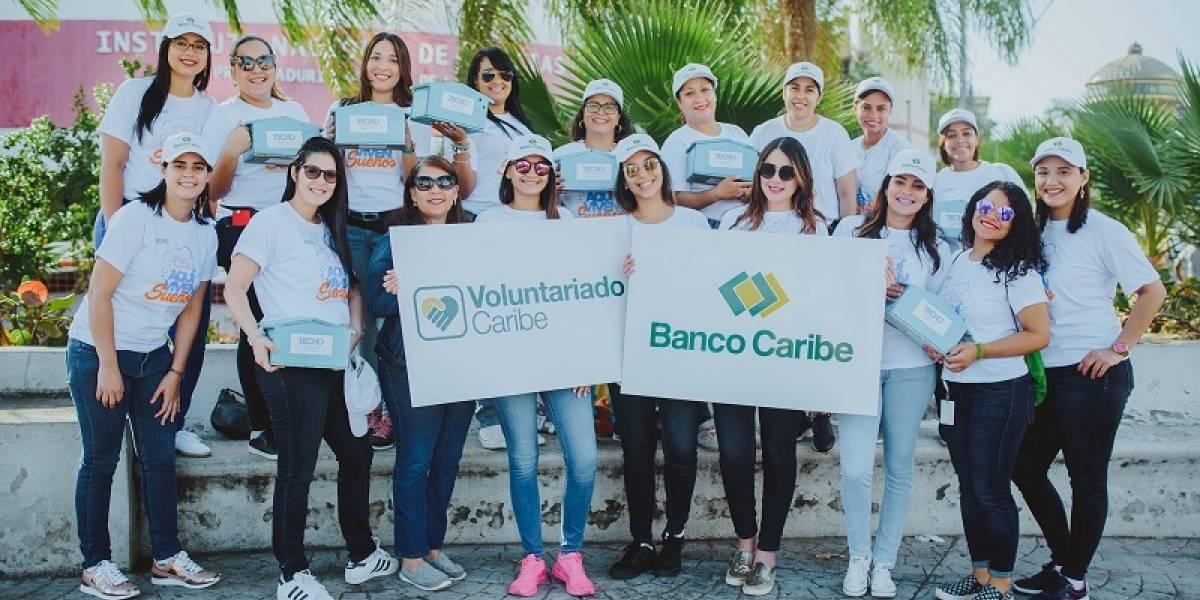 """#TeVimosEn: Banco Caribe por segundo ocasión apoya la """"Gran Colecta"""" de la entidad Techo"""