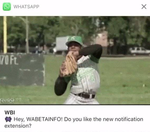 WhatsApp tendrá una barra de notificaciones y así luce